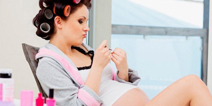 Cambios en el cabello y la piel durante el embarazo
