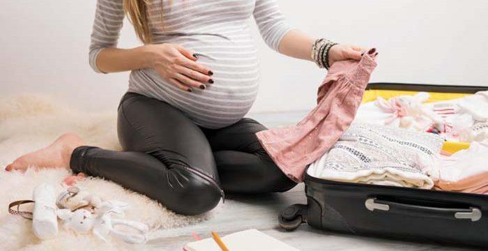 Viaja durante el embarazo