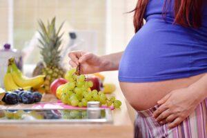 embarazada alimentación